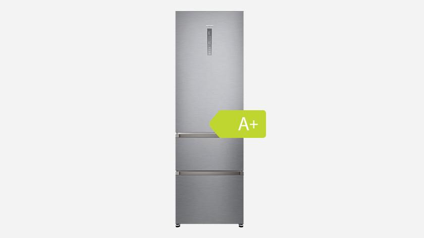 Energy label fridge freezer combination