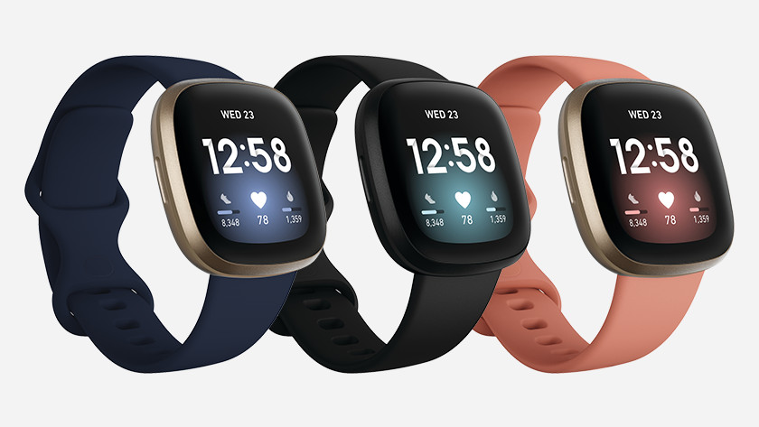 Fitbit Versa 3 uiterlijk