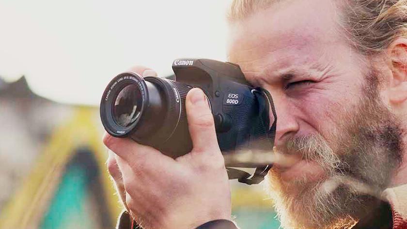Fysieke kenmerken Canon EOS 800D