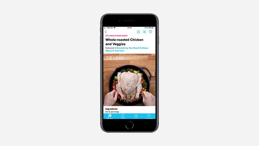 iOS app Tasty