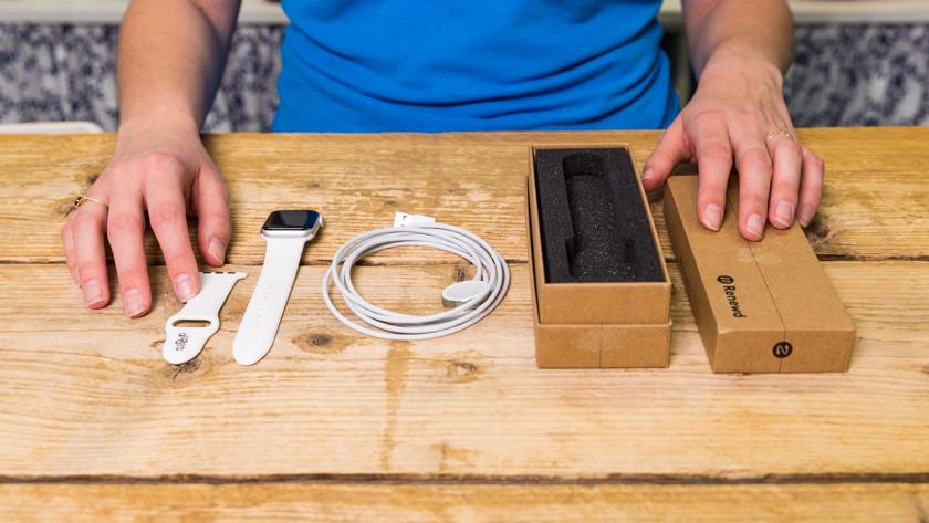 Inhoud van verpakking Renewd Apple Watch