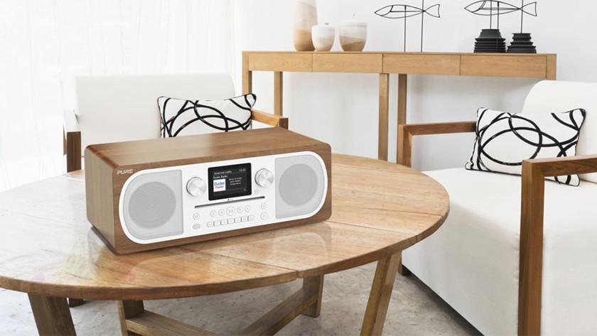Radio in gebruik
