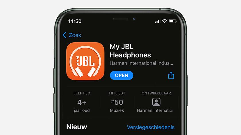My JBL Headphones app downloaden