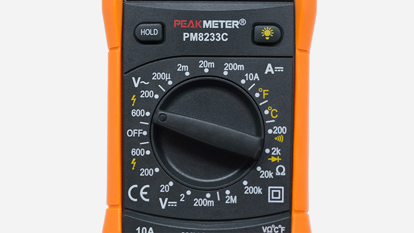 Turntable multimeter