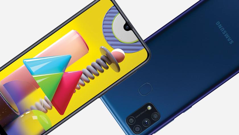 Samsung M31 vs M21 speed