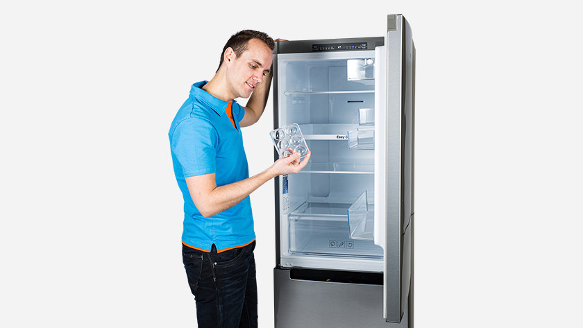 Coolbluer with fridge