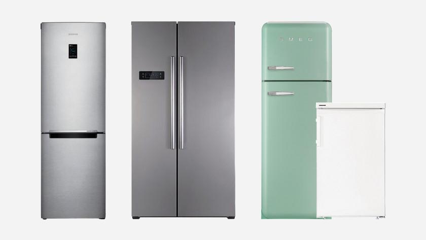 4 fridges in a row