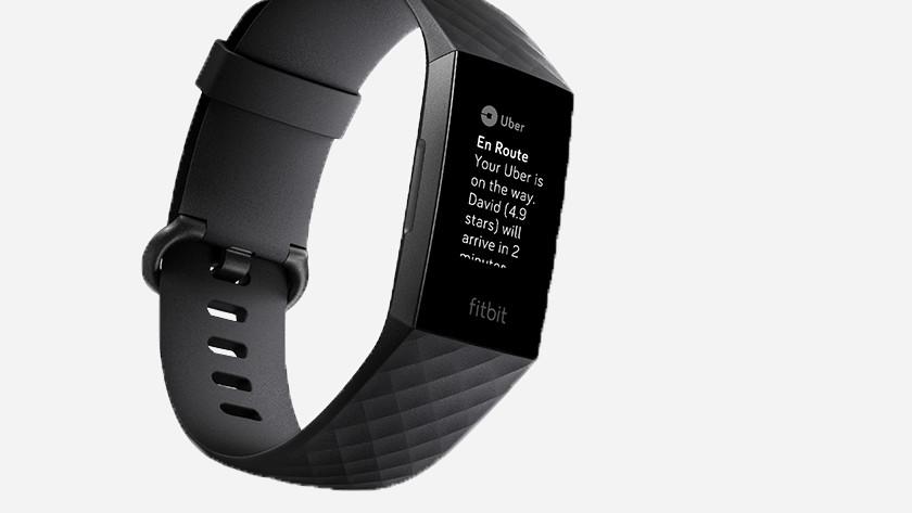Fitbit Charge 3 App contactloos betalen