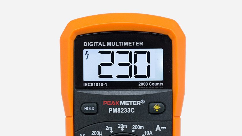 Multimeter 230 Volt