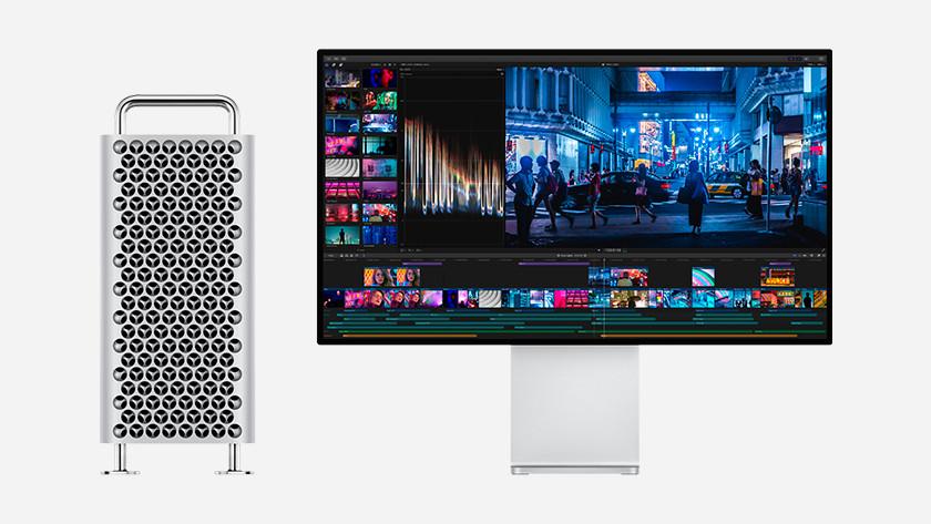 Mac Pro en Apple Pro Display XDR