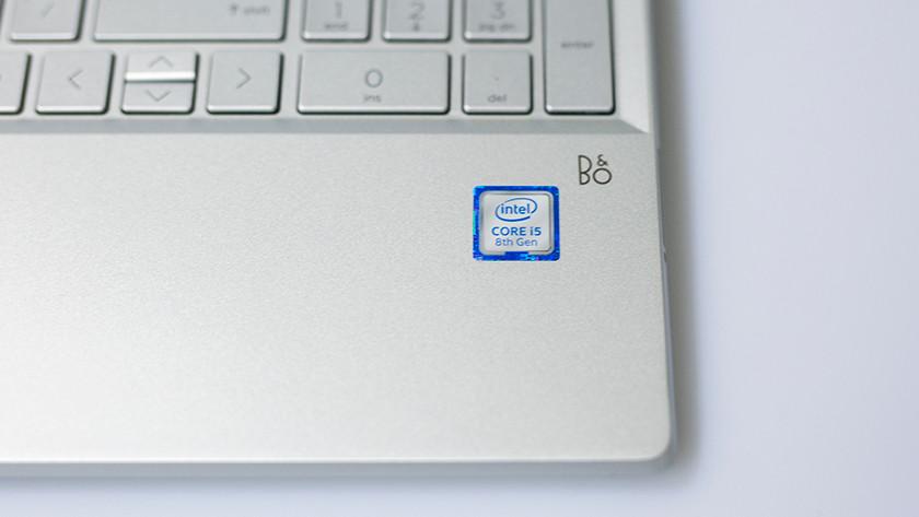 Sticker van Intel Core i5 processor.