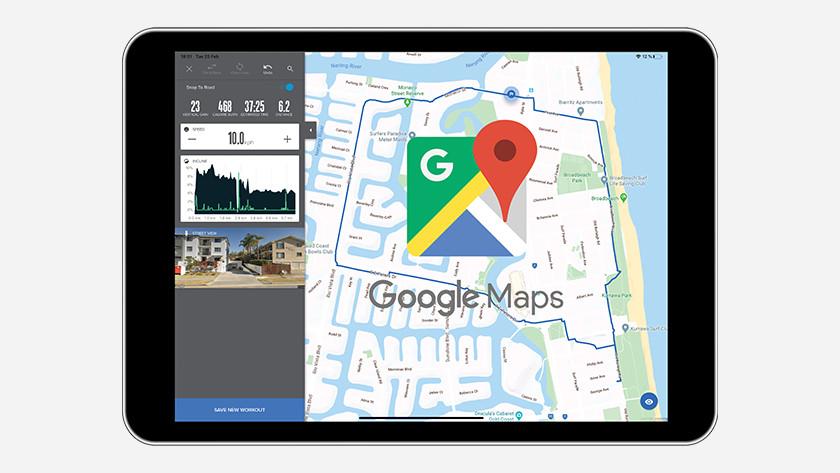 iFit google maps