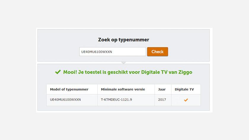 Ziggo certified
