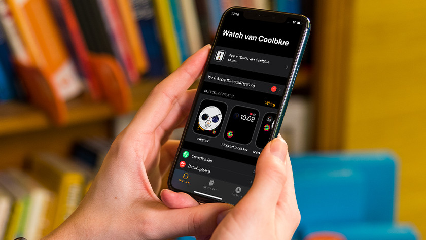 Open the Apple Watch app on your iPhone