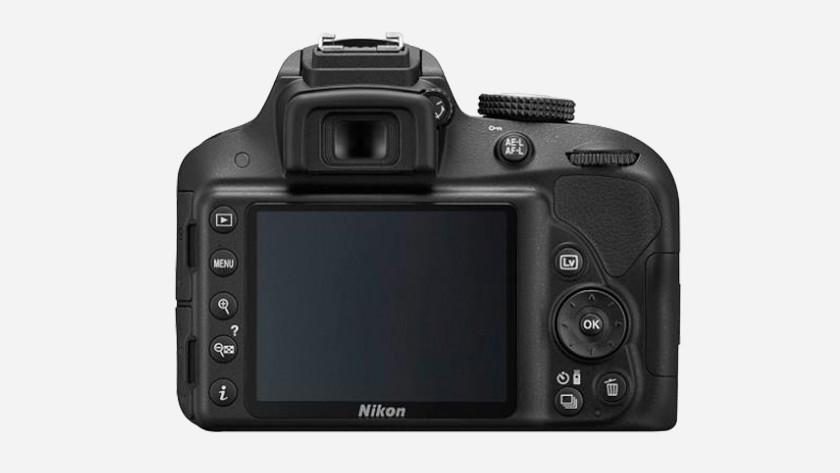Scherm Nikon D3300