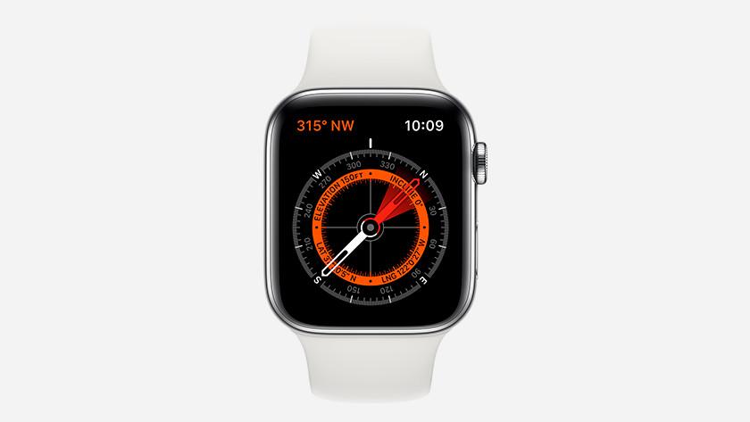 Kompas Apple Watch Series 5