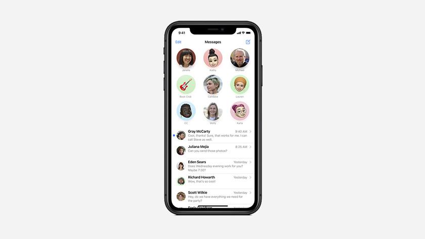 Berichten app