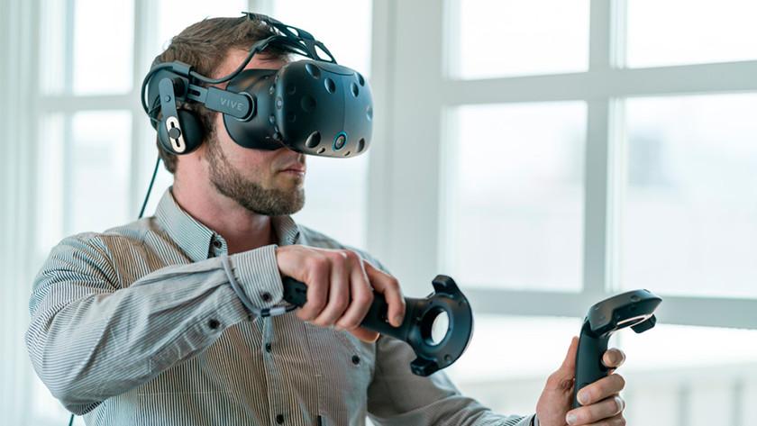 VR in use