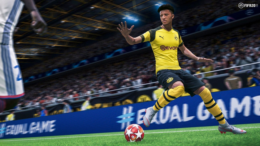 FIFA 2020 op de PS4 Slim