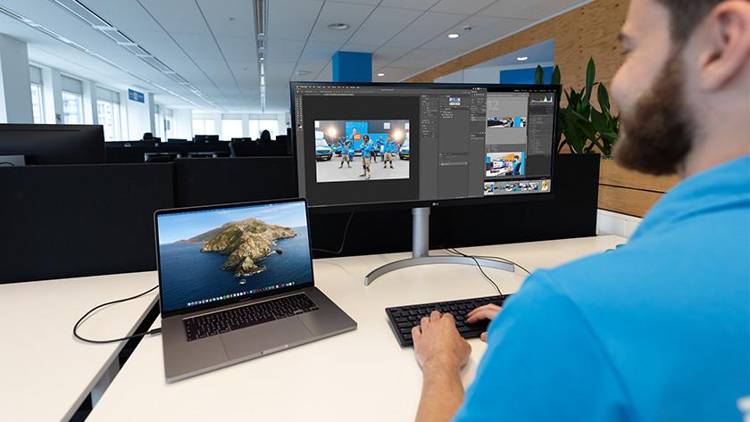 Monitor voor je MacBook