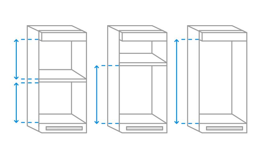 Layout IKEA cabinet