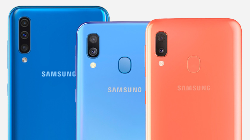 Vergelijking Samsung A serie