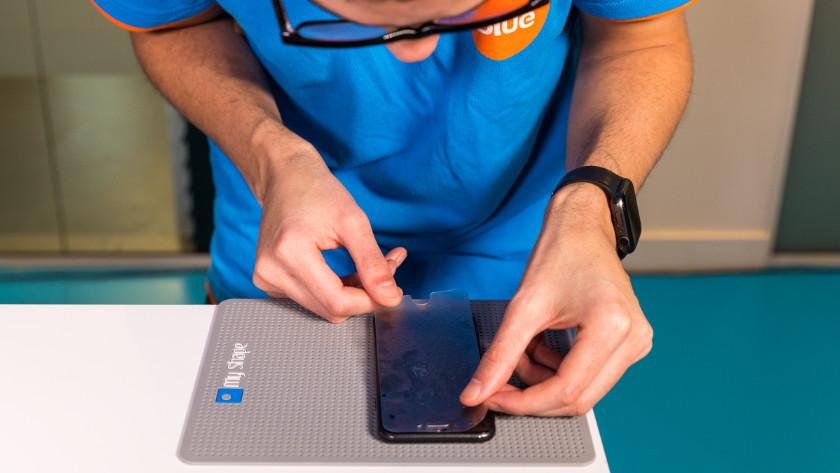 B2B screenprotectors plakken voor je bedrijf