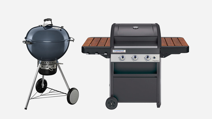 Charcoal barbecue vs gas barbecue