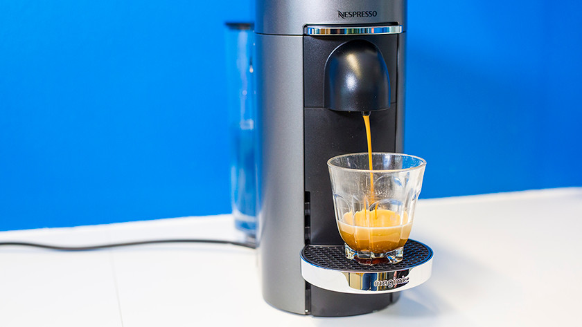 Make coffee with the Nespresso Vertuo