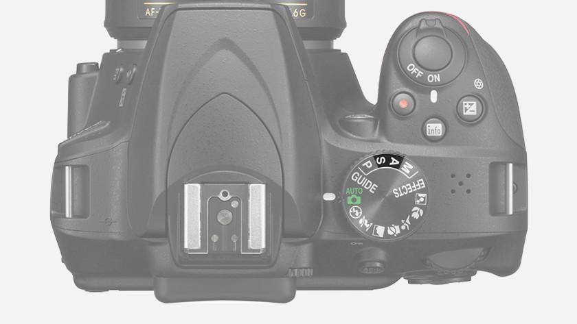 Choose camera mode