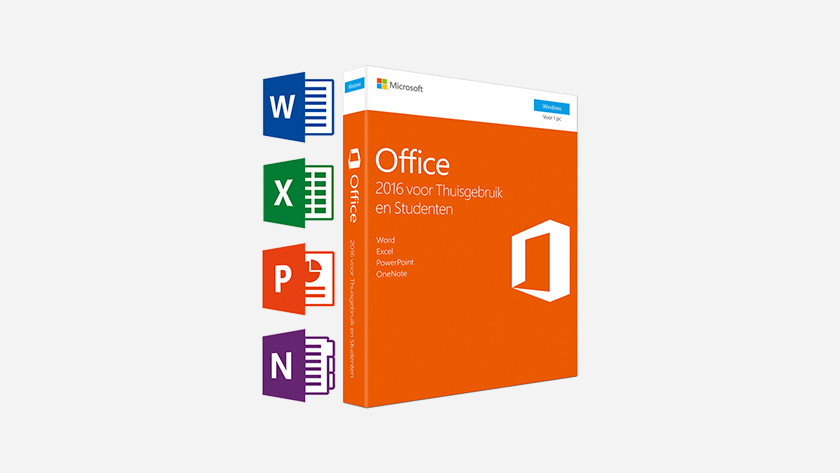 A Microsoft Office software box.