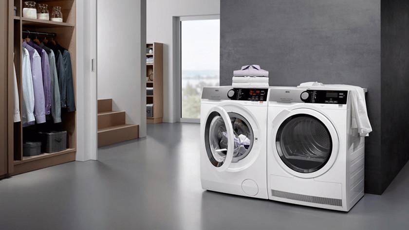 AEG wasmachine startuitstel