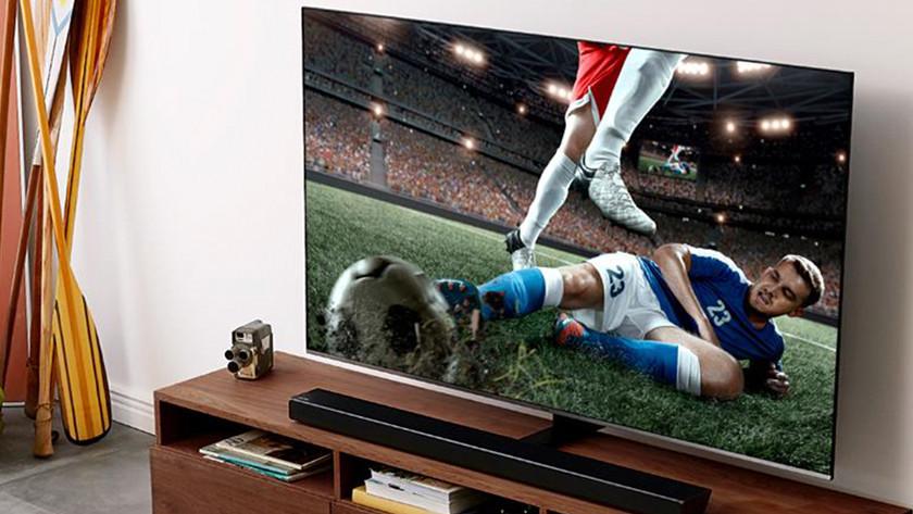 Brede kijkhoek om sport te kijken