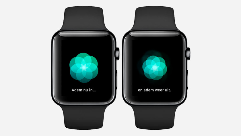 Ademhaling app op Apple Watch