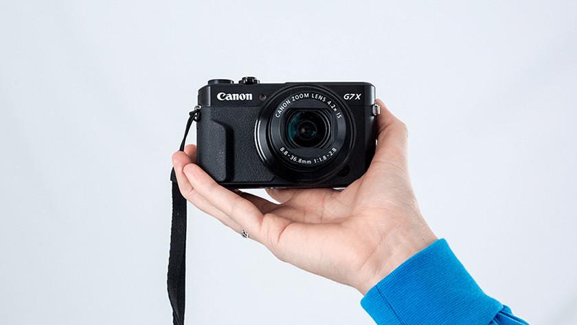 Canon compactcamera's