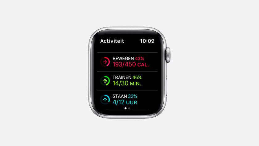 Bewegingsdoelen instellen op Apple Watch