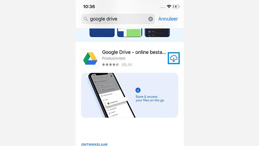 Apple naar Samsung app
