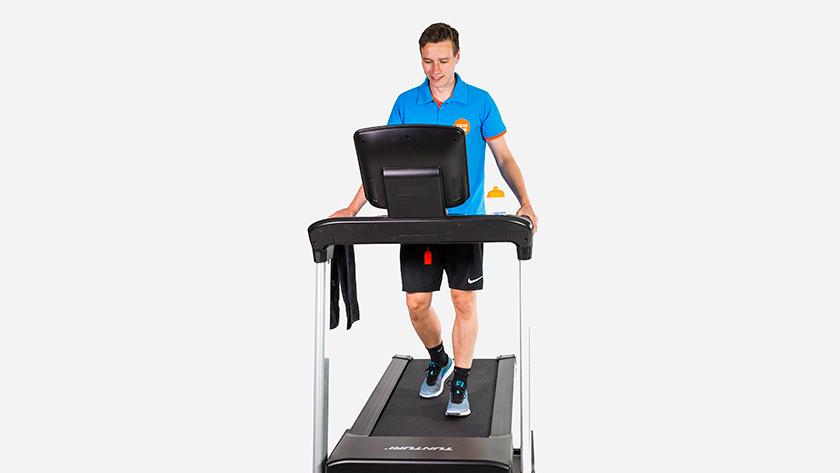 Proper width treadmill