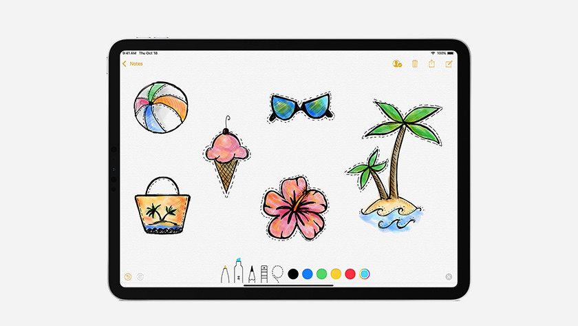 Tekenen met Apple Pencil 2e generatie