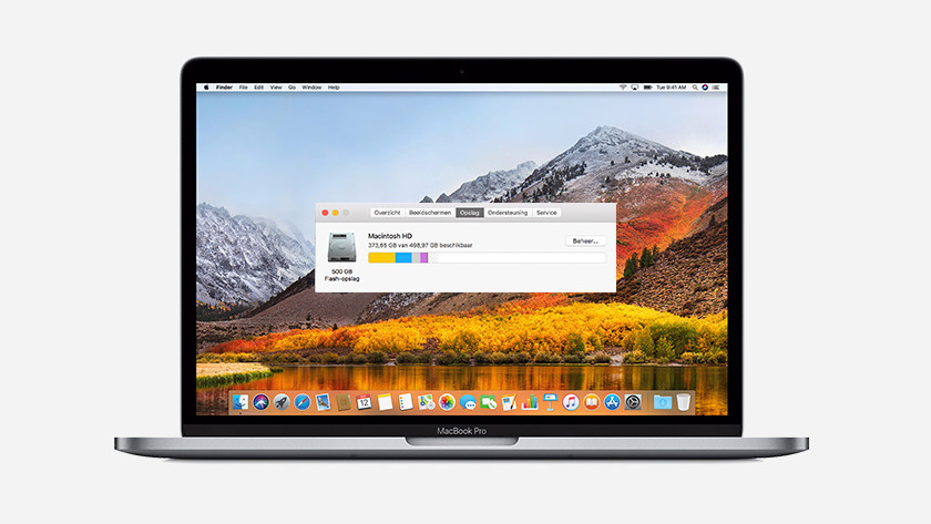 Apple MacBook Pro storage