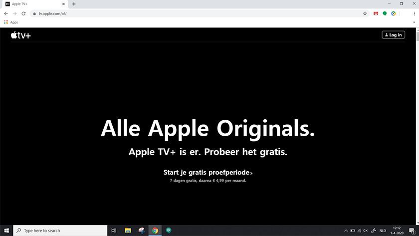 Ga naar tv.apple.com/nl/