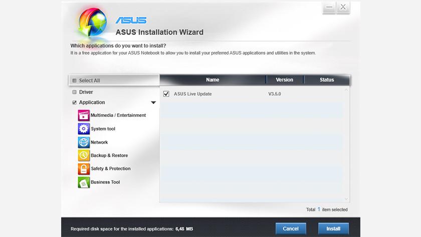 Controleer op software- en driver downloads.