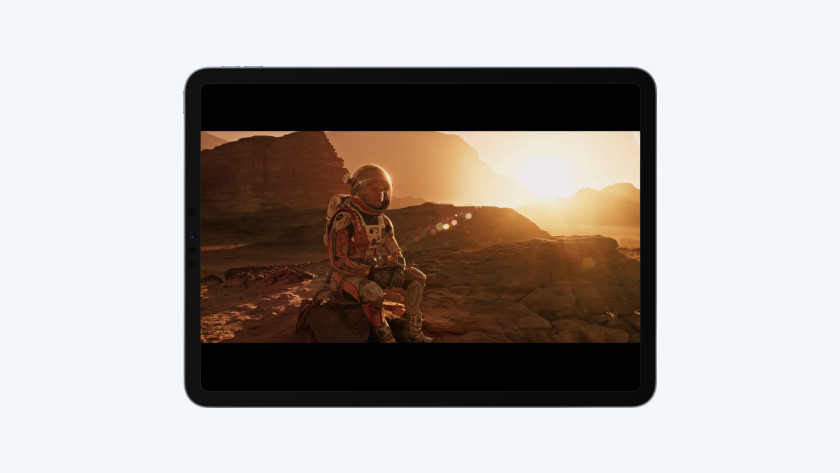 Films kijken iPad Pro (2020)