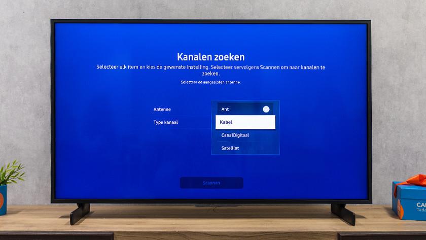 Samsung tv signaal kiezen
