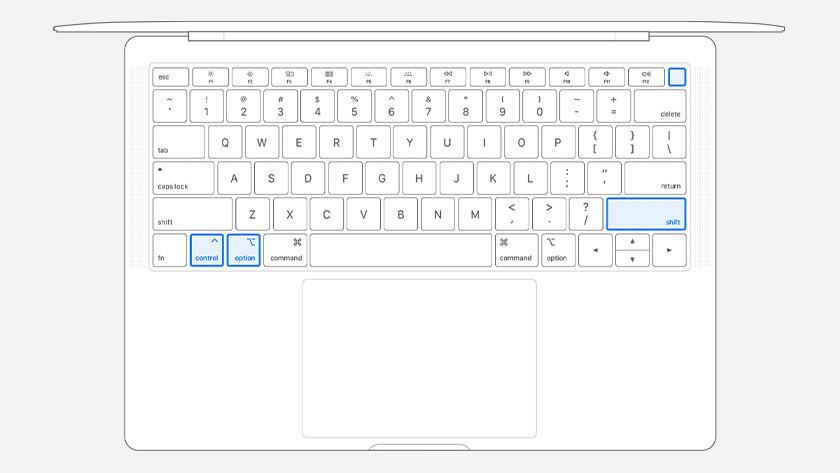 Apple MacBook met Touch ID resetten