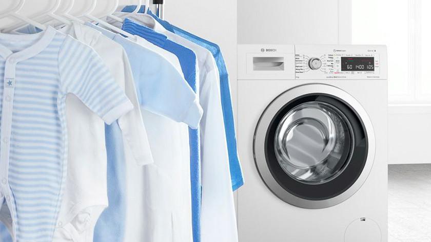 Bosch wasmachine met kleding