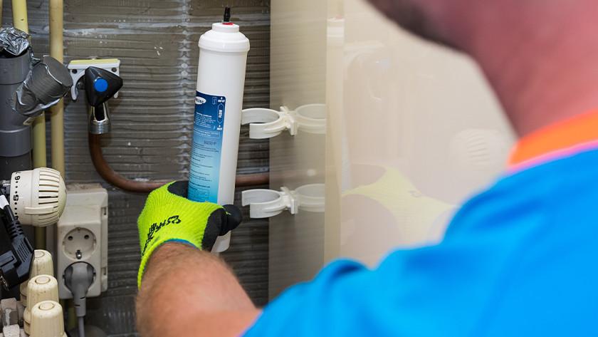Waterfilter koelkasten
