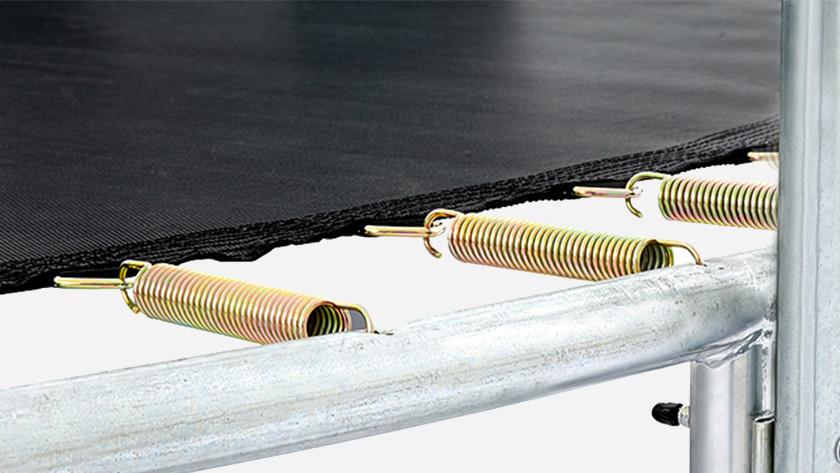 Trampoline mat material