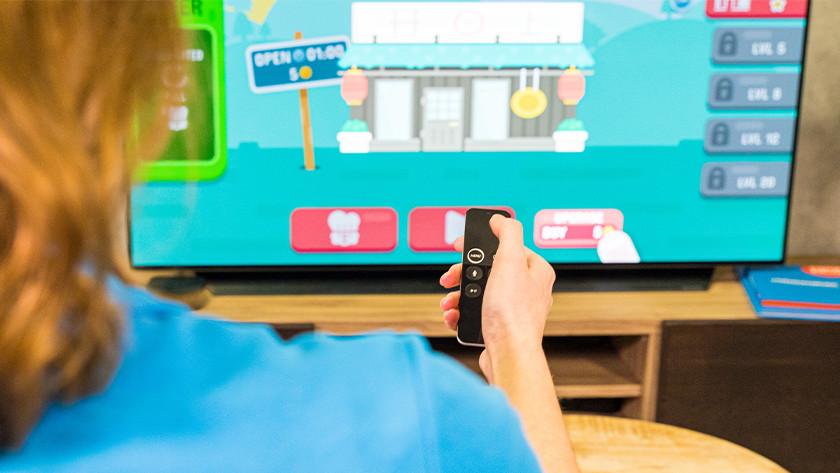 Apple TV 4K opslag