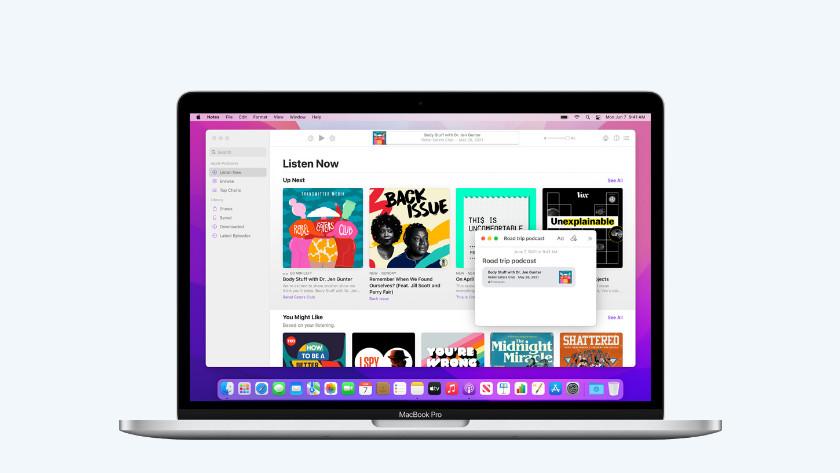 macOS Monterey verbeteringen